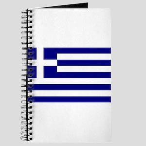 Greece Flag Journal