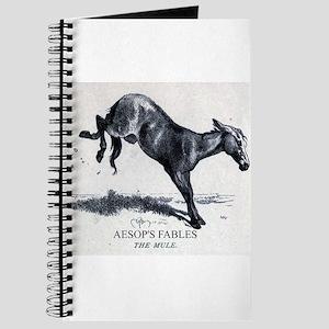 Harrison Weir - The Mule - Aesop - 1867 Journal