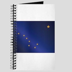 Flag of Alaska Gloss Journal