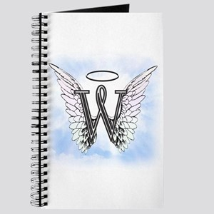 Letter W Monogram Journal