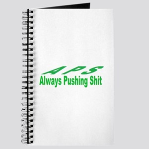 always pushing shit Journal