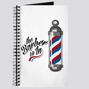 Barber Is In Journal