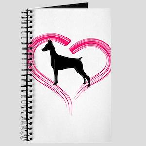 Heart My Doberman Journal