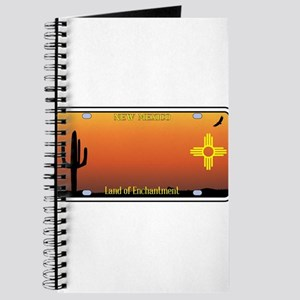 New Mexico License Plate Journal