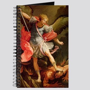 Archangel Michael Defeating Satan Journal