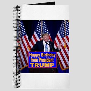 Happy Birthday from President Trump Journal