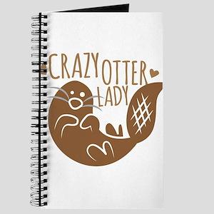 Crazy Otter Lady Journal