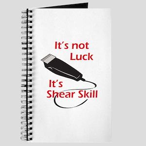 SHEAR SKILL Journal