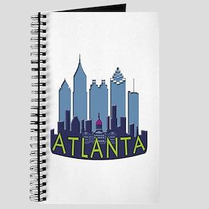 Atlanta Skyline Newwave Cool Journal