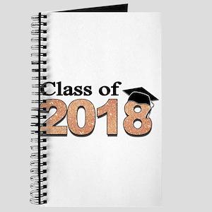 Class of 2018 Glitter Journal