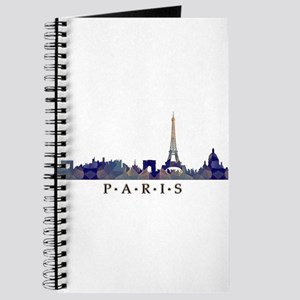 Mosaic Skyline of Paris France Journal