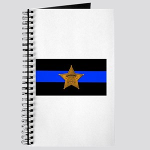 Sheriff Thin Blue Line Journal