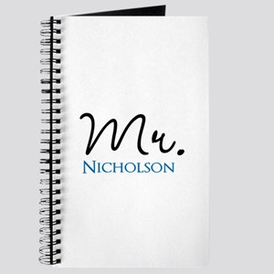 Customizable Name Mr Journal