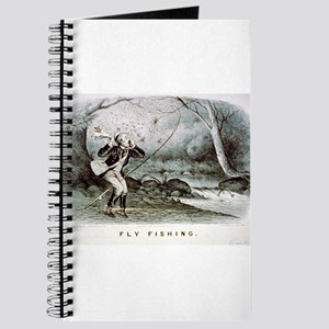 Fly fishing - 1879 Journal