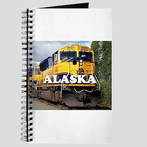 Alaska Railroad engine locomotive 2 Journal