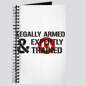 Legally Armed Expertly Trained Journal