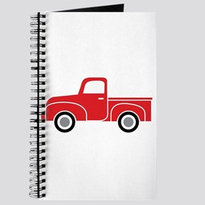Vintage Red Truck Journal