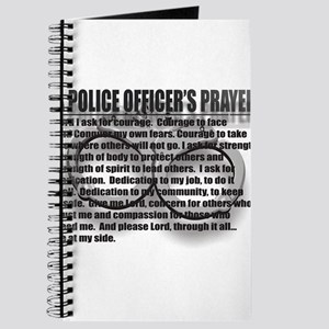 A POLICE OFFICERS PRAYER Journal