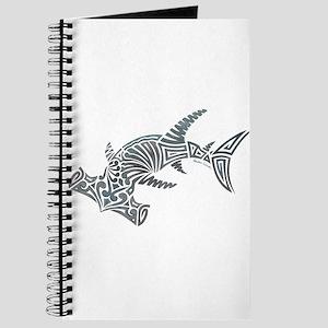 Tribal Hammerhead Shark Journal