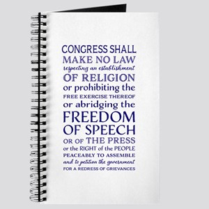 Freedom of Speech First Amendment Journal
