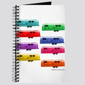 Airstream trailers candy colors Journal