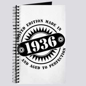 LIMITED EDITION MADE IN 1936 Journal