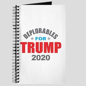 Deplorables for Trump 2020 Journal