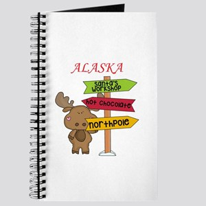 Alaska Moose What Way To The North Pole Journal