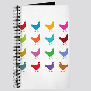 Colorful Chickens Journal