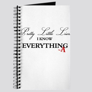 I Know Everything A Journal