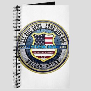 Memorial Dallas Police Thin Blue Line Journal