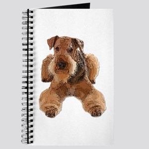 Heavily Deconstructed Vector Airedale Terr Journal