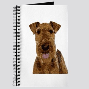 Airedale Painted Journal