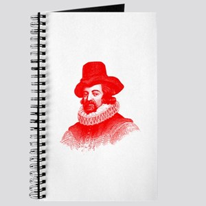 Francis Bacon in Red Journal