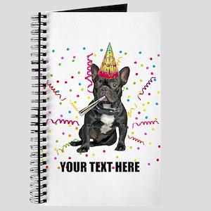 Custom French Bulldog Birthday Journal