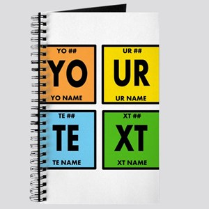 Your Text Periodic Elements Nerd Special Journal