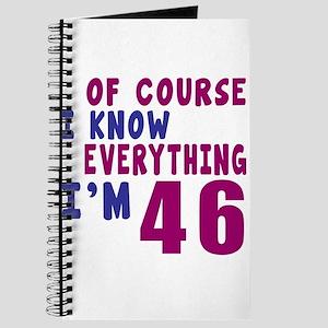 I Know Everythig I Am 46 Journal