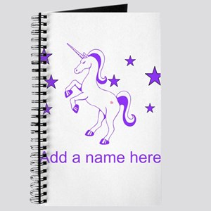 Personalizable Unicorn Journal