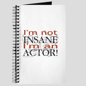 Insane Actor Journal