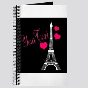 Paris France Eiffel Tower Journal