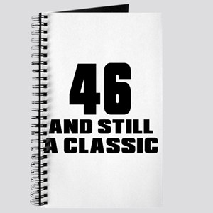 46 And Still A Classic Birthday Designs Journal