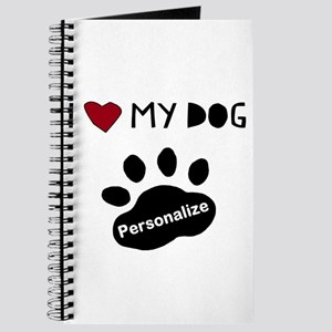 Personalized Dog Journal