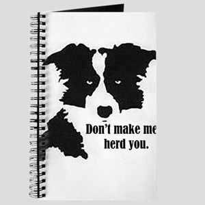 Border Collie Art Journal