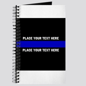 Thin Blue Line Customized Journal