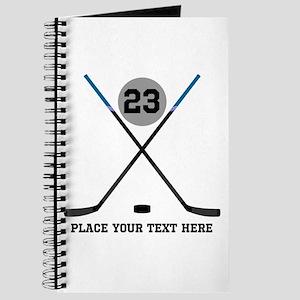 Ice Hockey Personalized Journal