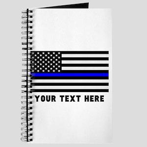 Thin Blue Line Flag Journal