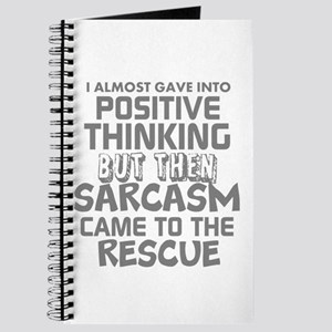 POSITIVE THINKING-SARCASM HUMOR Journal