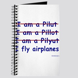 I Fly Airplanes Journal