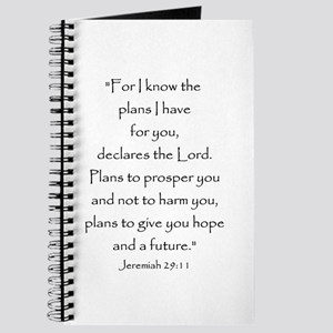 Jeremiah 29:11 Journal