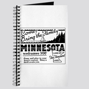 Thrilling Minnesota Retro Ad Journal